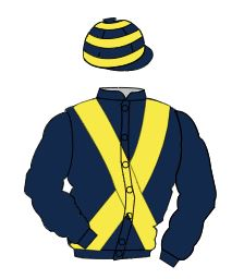 Racing colours for MRS BERNICE CUTHBERT