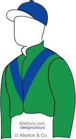 Racing colours for Dr JS Kinnear