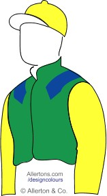 Racing colours for Sue D'Arcy