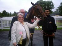 DOT AND TONY BURLTON WITH VALLEMELDEE